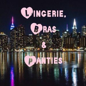 Lingerie, Bras & Panties Section